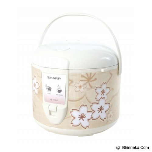 SHARP Rice Cooker [KS-R18MS - BR] - Rice Cooker